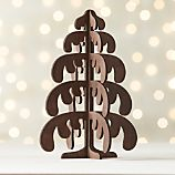 Laser-Cut Wood Drippy Tree