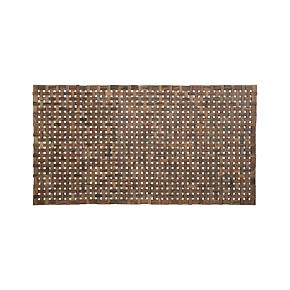 Lattice Wooden Mat - Lattice Wooden Mat