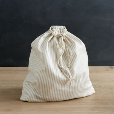 Laundry Bag with Ticking