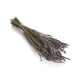 Pop a bunch of dried lavender in a vase and enjoy its sweet scent and beautiful purple color.
