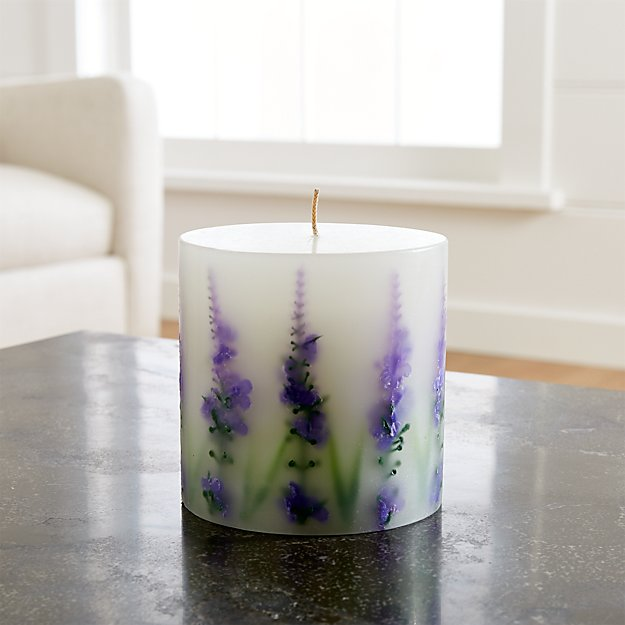 Lavender-Scented Inclusion Candle