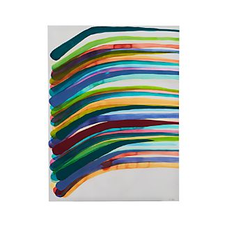 Lazy Stripes Print