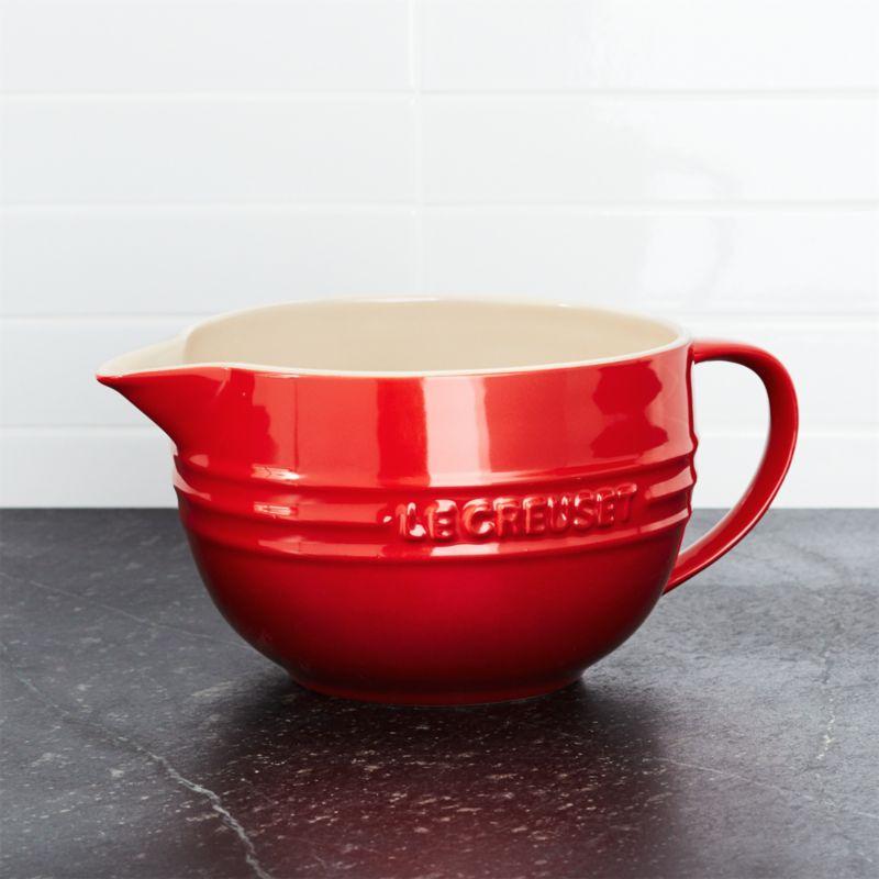 Le Creuset ® Cerise Red Batter Bowl