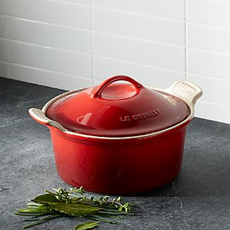 Le Creuset ® Heritage Covered Round Cerise Red Baking Dish