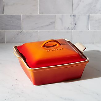 Le Creuset ® Heritage Covered Square Flame Baking Dish