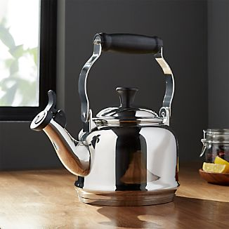 Le Creuset ® 1.25 qt. Demi Stainless Steel Whistling Tea Kettle