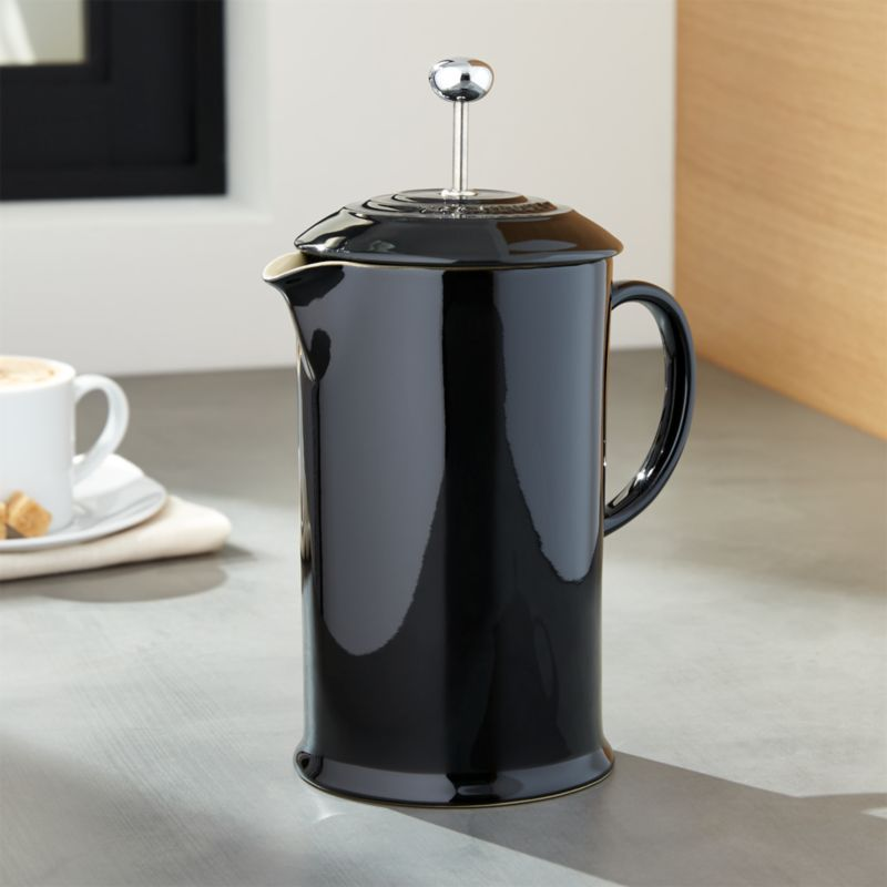 Le Creuset ® Black French Press