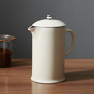 Le Creuset ® Cream French Press