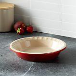 Le Creuset ® Cerise Pie Dish