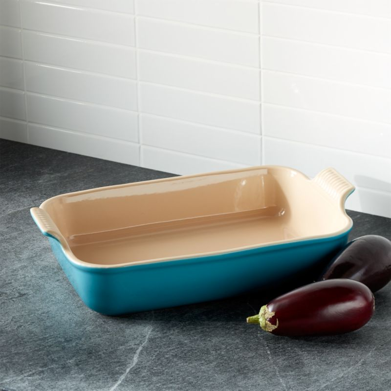 Le Creuset ® Heritage Rectangle Caribbean Baking Dish