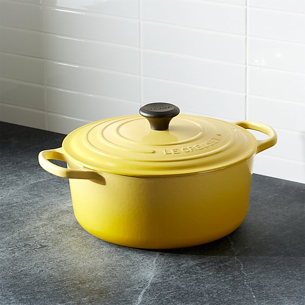 Le Creuset ® Signature 5.5-qt. Round Soleil French Oven with Lid