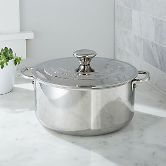 Le Creuset ® Signature Stainless Steel 5.5-Qt. Casserole with Lid