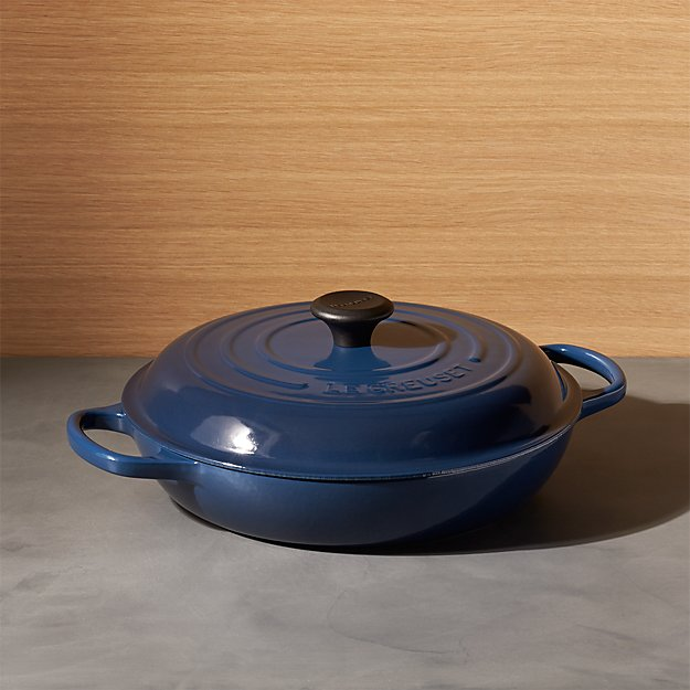 Le Creuset ® Signature 3.75 qt. Ink Everyday Pan