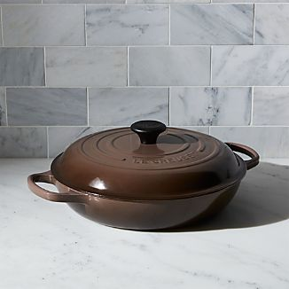 Le Creuset ® Signature 3.75 qt. Truffle Everyday Pan