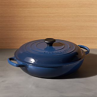 Le Creuset ® Signature 5-Qt. Ink Everyday Pan with Lid