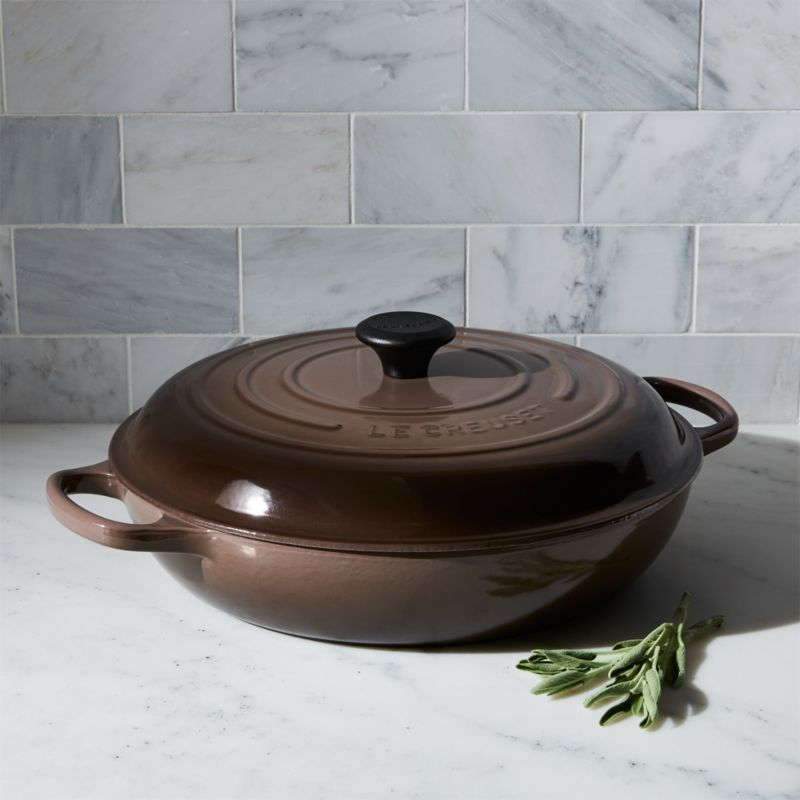 Le Creuset ® Signature 5-qt. Truffle Everyday Pan