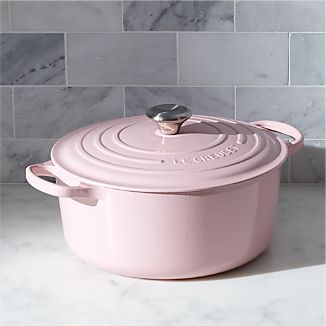 Le Creuset ® Signature 7.25-Qt. Round Hibiscus Pink French Oven with Lid