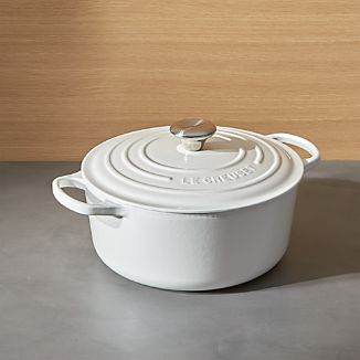 Le Creuset ® Signature 5.5-Qt. Round White French Oven with Lid