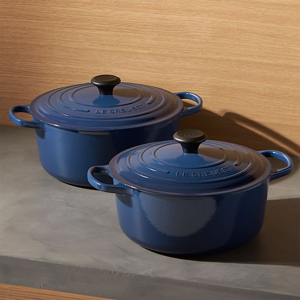 Le Creuset ® Signature Round Ink French Ovens with Lid