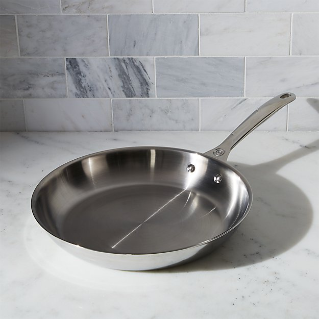"Le Creuset ® Signature 12"" Stainless Steel Fry Pan"