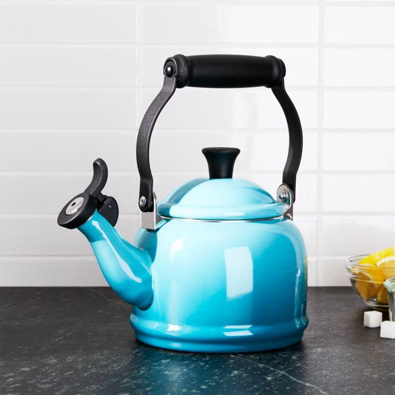 Le Creuset ® 1.25-Qt. Demi Caribbean Tea Kettle