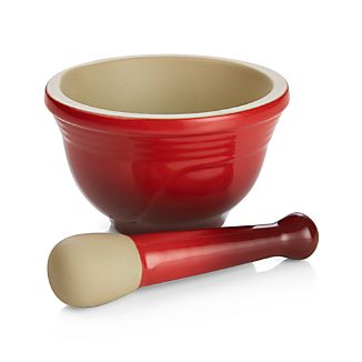 Le Creuset Cherry Mortar and Pestle