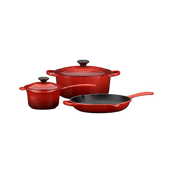 Le Creuset ® Cherry 5-Piece Cookware Set