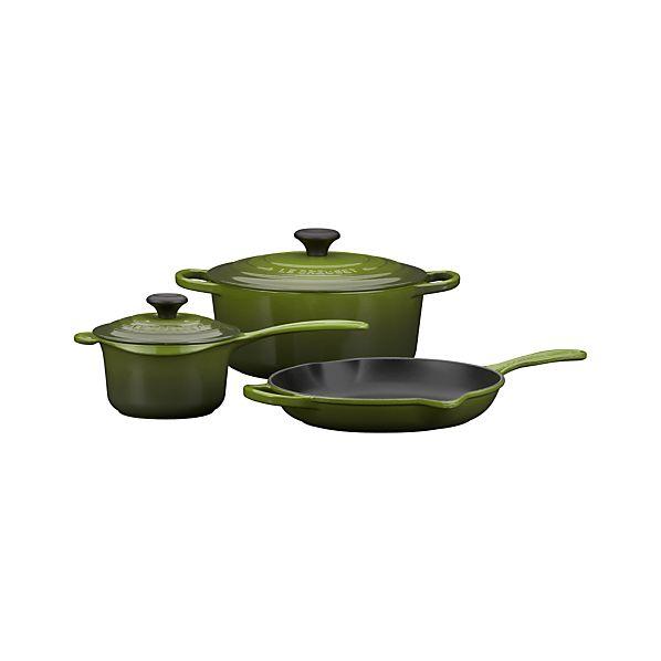 Le Creuset ® Spinach 5-Piece Cookware Set