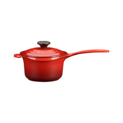 Le Creuset® Cherry Everyday Pan. 1.25 qt