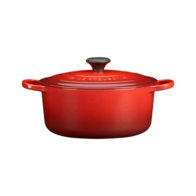 Le Creuset® 5.5 qt. Round Cherry French Oven with Lid