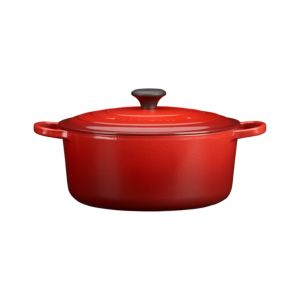 Le Creuset® Round Cherry 7.25 Quart French Oven with Lid