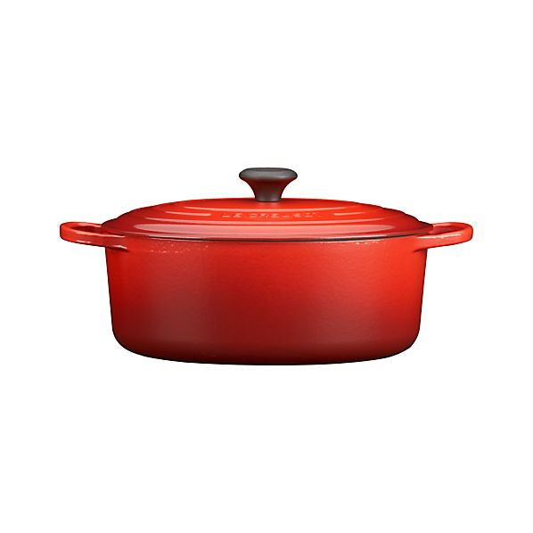 Le Creuset ® 6.75 qt. Oval Cherry French Oven with Lid