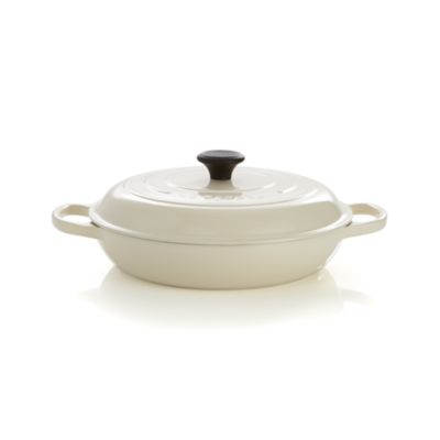 Le Creuset® 3.5 qt. Cream Everyday Pan