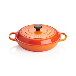 Le Creuset ® Signature 3.75-qt. Flame Everyday Pan