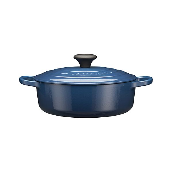 Le Creuset ® Signature 3.5 qt. Wide Round Ink French Oven with Lid