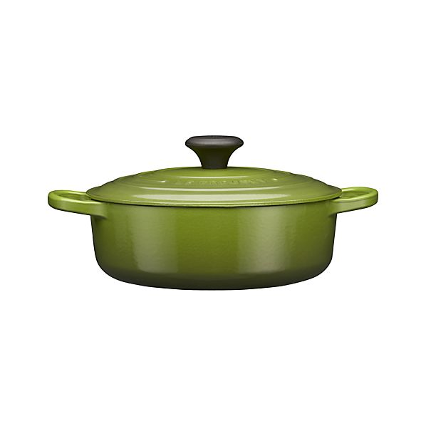 Le Creuset ® 3.5 qt. Wide Round Spinach French Oven with Lid