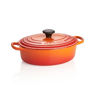 Le Creuset ®Signature 3.5-qt. Flame Oval French Oven