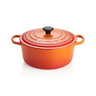 Le Creuset ® Signature 7.25-qt. Flame Round French Oven