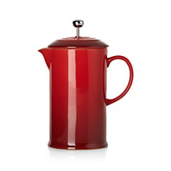 Le Creuset ® Cherry French Press