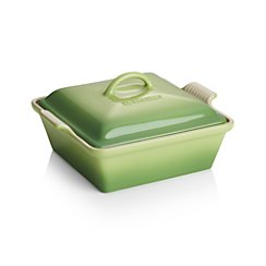 Le Creuset ® Heritage Covered Square Palm Baking Dish