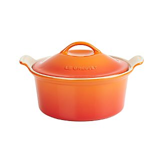 Le Creuset ® Heritage Covered Round Flame Baking Dish
