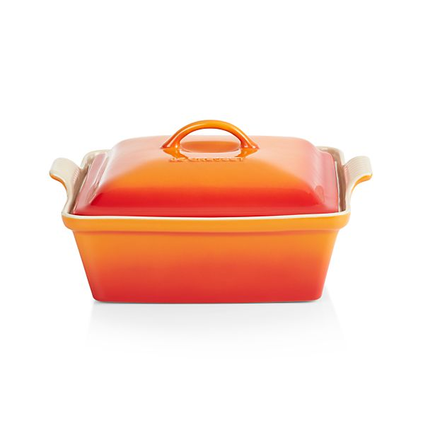 Le Creuset 174 Heritage Covered Square Flame Baking Dish