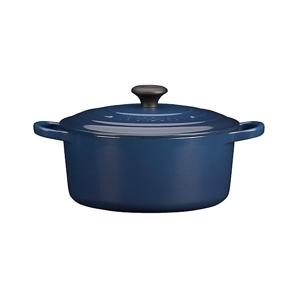 Le Creuset ® 3.5 qt. Round Ink French Oven with Lid