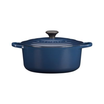 Le Creuset® Signature 5.5 qt. Round Ink French Oven with Lid