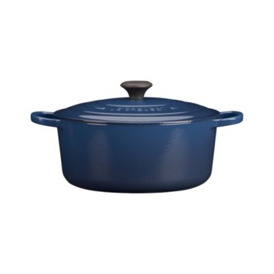 Le Creuset�� 7.25 qt. Round Ink French Oven with Lid