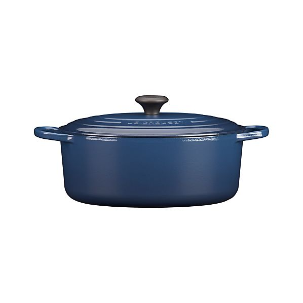 Le Creuset ® 6.75 qt. Oval Ink French Oven with Lid