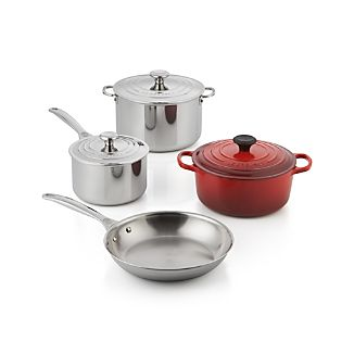 Le Creuset ® Mixed Material 7-Piece Cookware Set