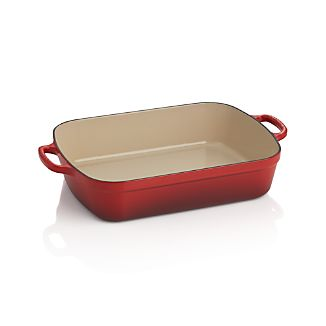Le Creuset ® Signature 5.25-qt. Cherry Red Roaster