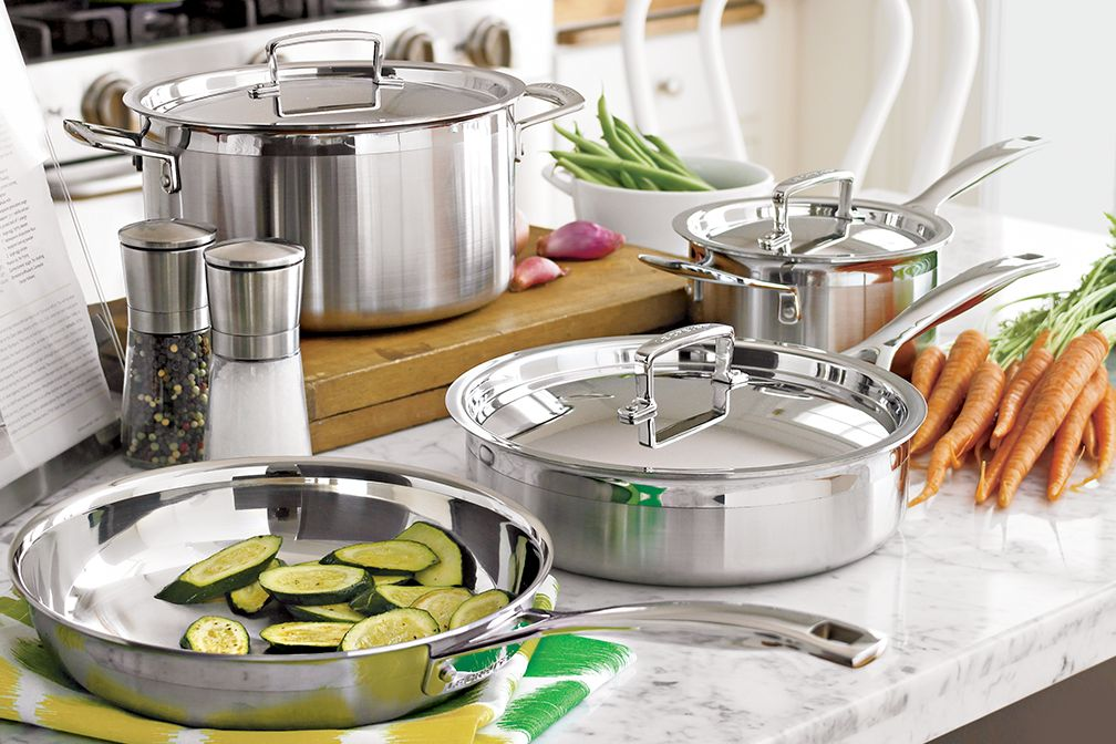 LeCreuset Stainless Steel Cookware