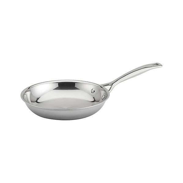 """Le Creuset ® Stainless Steel 8"""" dia. Frypan"""